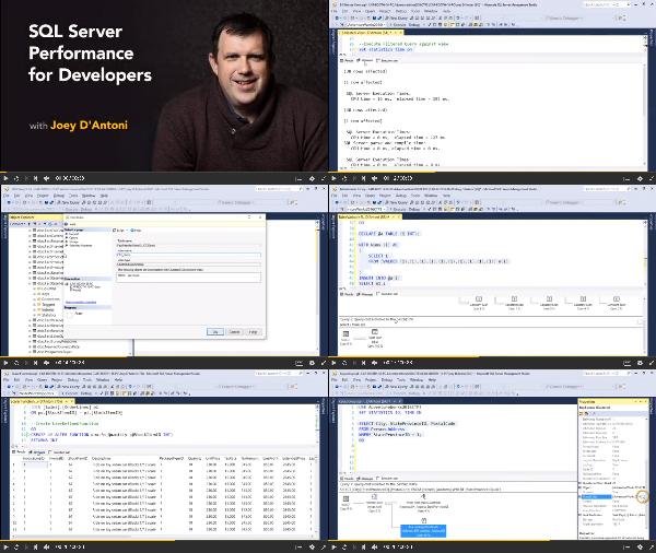 SQL Server Performance for Developers center