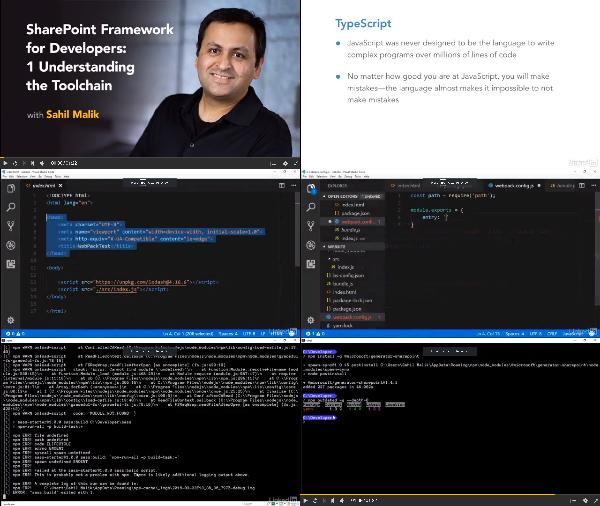 SharePoint Framework for Developers: 1 Understanding the Toolchain center
