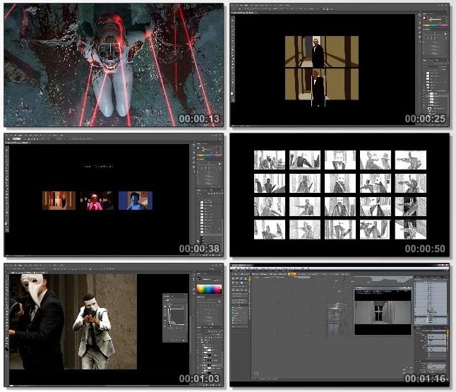 دانلود فیلم آموزشی Cinematic Concept Design از Learn Squared