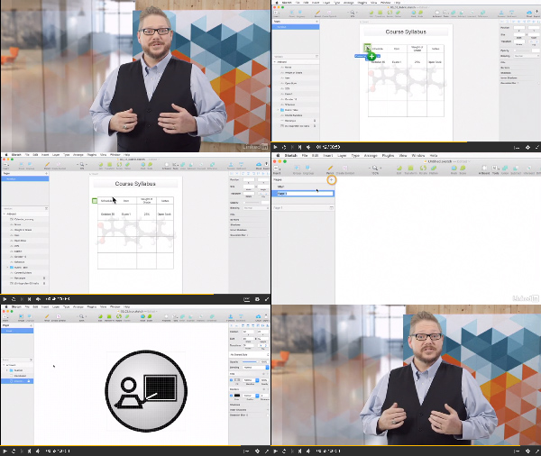 UX for Instructional Design with Sketch center