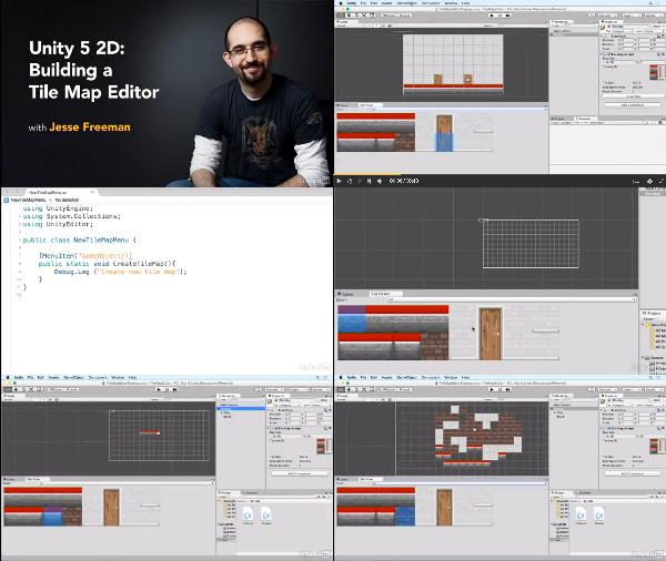 Unity 5 2D: Building a Tile Map Editor center