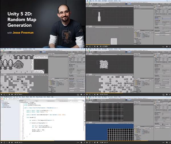 Unity 5: 2D Random Map Generation center
