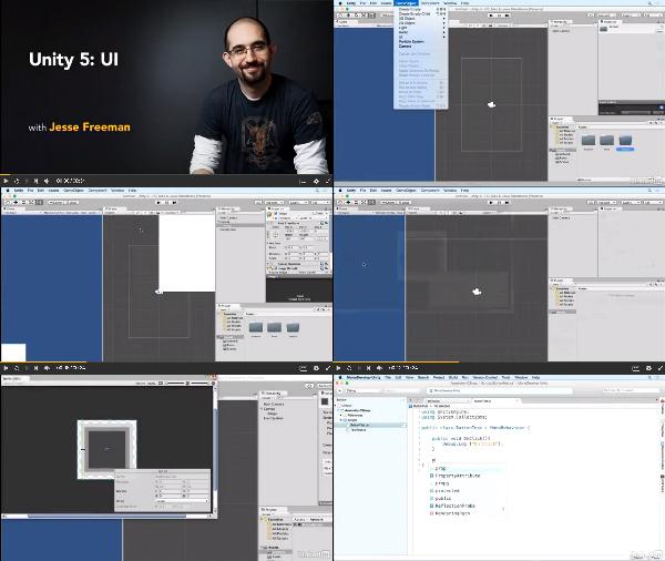 Unity 5: UI center