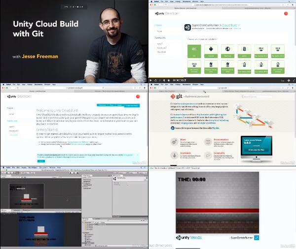 Unity: Cloud Build with Git center
