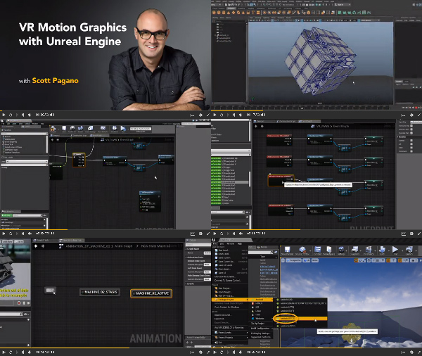 VR Motion Graphics with Unreal Engine center