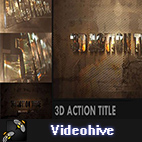 Videohive 3D Action Title Opener logo