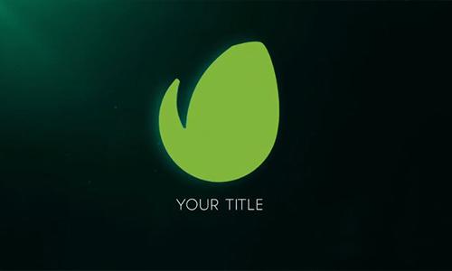 Videohive 3D Minimal Dark Logo Reveal center