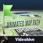 Videohive Animated Map Path v3 logo