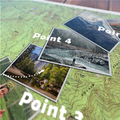 Videohive Animated Map Path v3 center