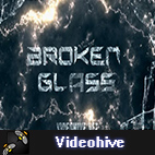 Videohive Broken Glass Trailer logo