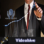 Videohive Business Chart - Logo Intro logo