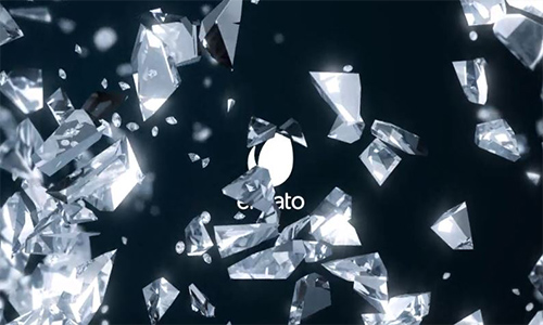 Videohive Diamond Logo Reveal center