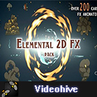 Videohive Elemental 2D FX pack logo