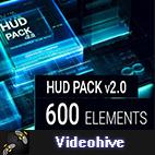Videohive HUD Pack v2 logo
