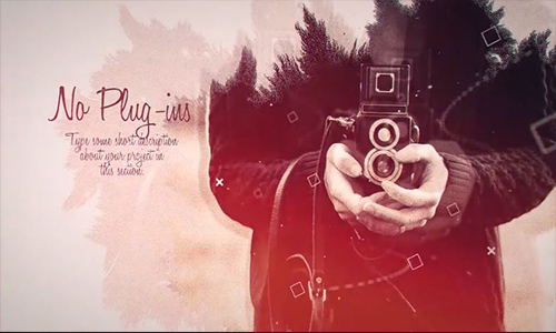 Videohive Ink Slideshow center