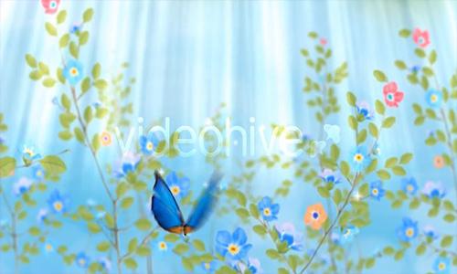 Videohive Spring Logo center