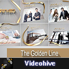 Videohive The Golden Line logo