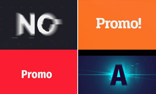 Videohive Typography Promo v7 center