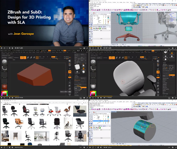 ZBrush and SubD: Design for 3D Printing with SLA center