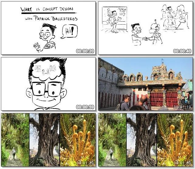 دانلود فیلم آموزشی What Is Concept Art از Lynda