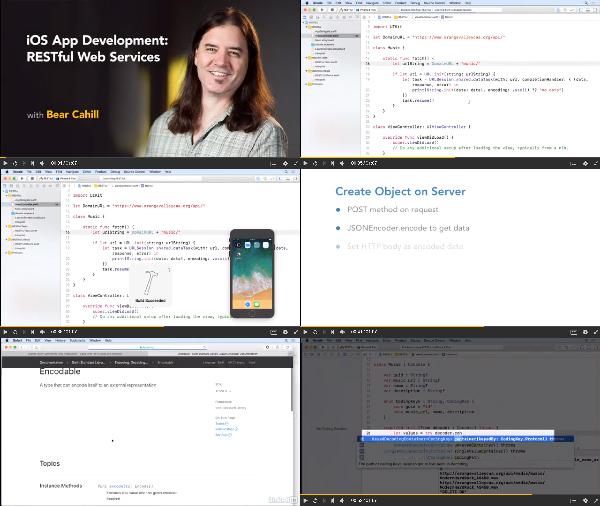 iOS App Development: RESTful Web Services center