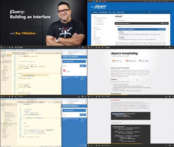 jQuery: Building an Interface center