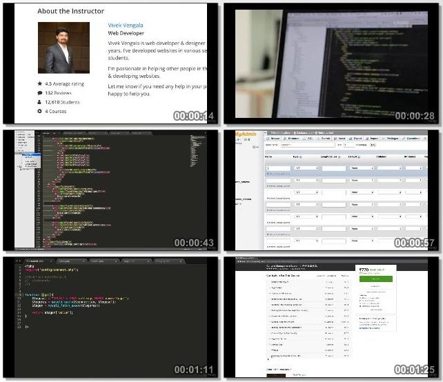 دانلود فیلم آموزشی Content Management System in PHP & MySQL