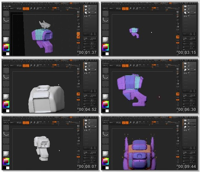 دانلود فیلم آموزشی Production Modeling for Games and 3D Printing in ZBrush and 3ds Max
