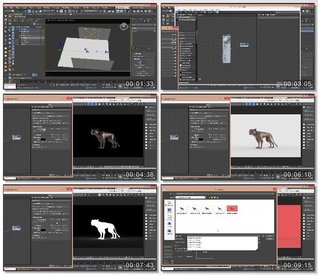 دانلود فیلم آموزشی Studio Lighting Techniques with 3ds Max and V-Ray