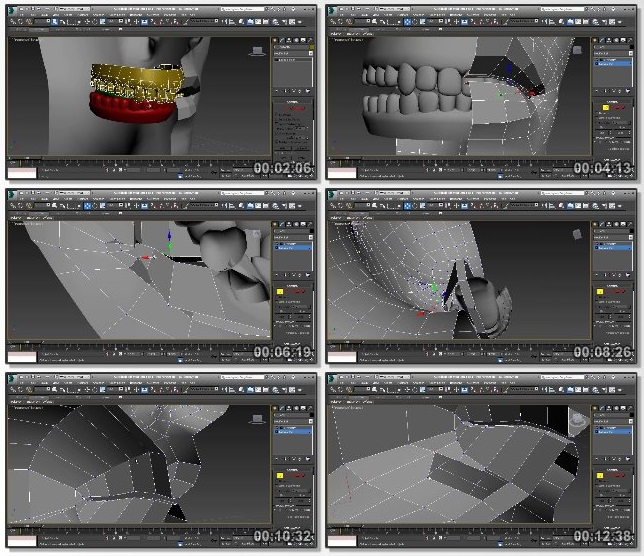 دانلود فیلم آموزشی Realistic Game Character Modeling in 3ds Max