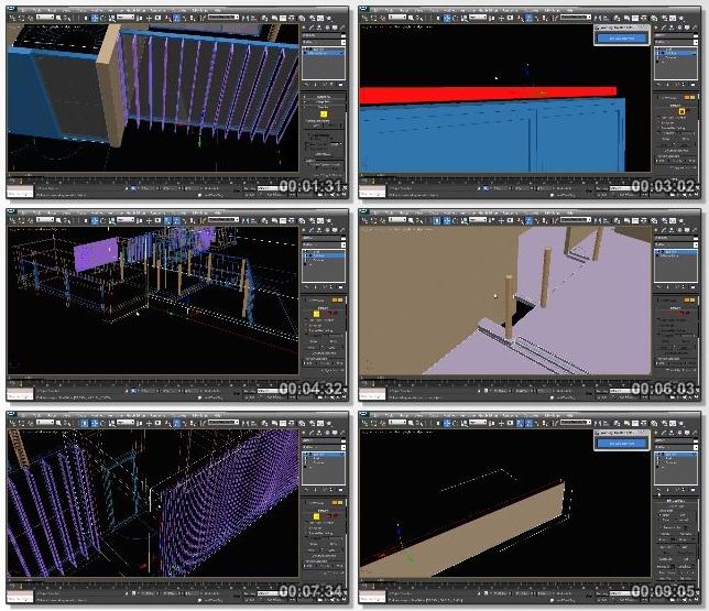 دانلود فیلم آموزشی Modeling Impressive Architectural Exteriors in 3ds Max and V-Ray