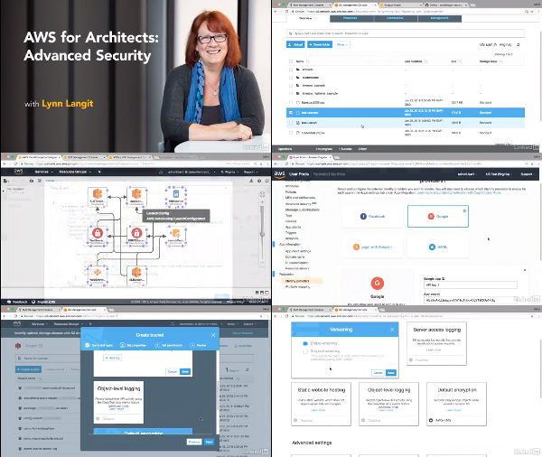 AWS for Architects: Advanced Security center