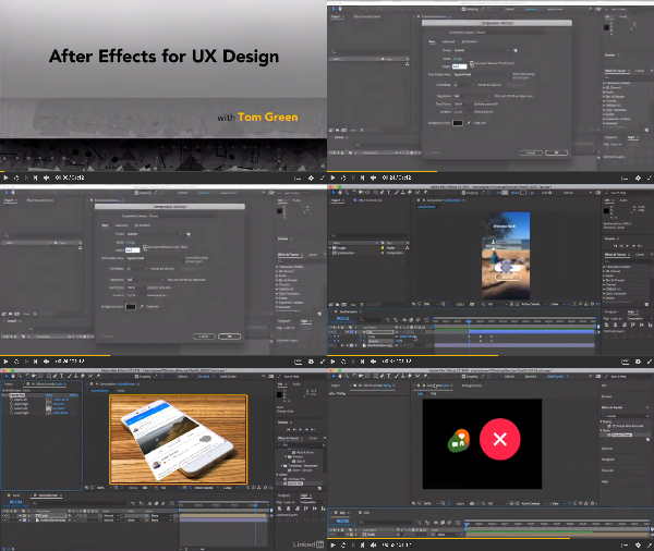 After Effects for UX Design center