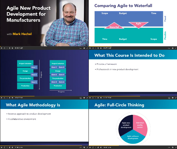 Agile New Product Development for Manufacturers center