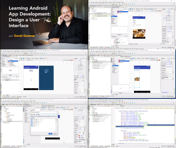 Android Development Essential Training: Design a User Interface center