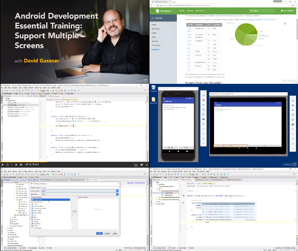 Android Development Essential Training: Support Multiple Screens center