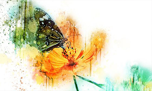 Aquarellixign Art Photoshop Action center