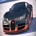 Bugatti Veyron Super Sport 2012 3D Model logo