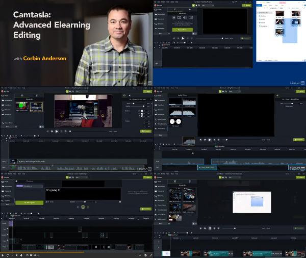 Camtasia: Advanced Elearning Editing center