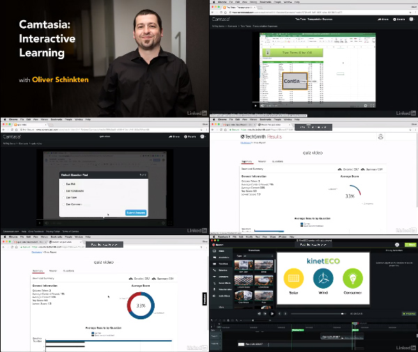 Camtasia: Interactive Learning center