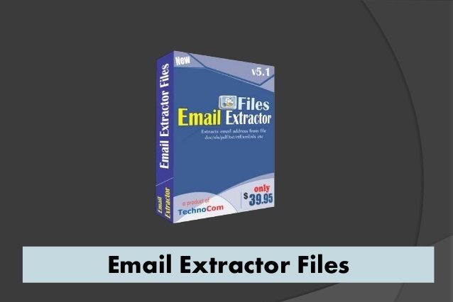 Email Extractor Files center