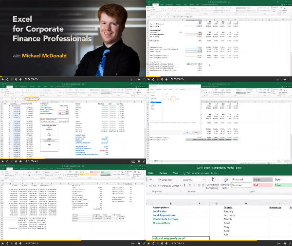 Excel for Corporate Finance Professionals center