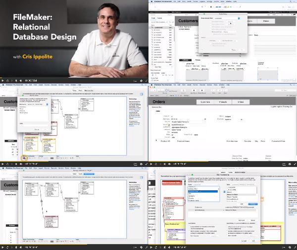 FileMaker: Relational Database Design center
