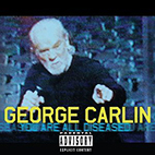 George Carlin You Are All Diseased 1999.www.download.ir.Poster