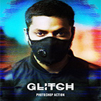 Glitch 2 Photoshop Action logo