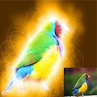 Glowing Edges Effect Photoshop Action logo