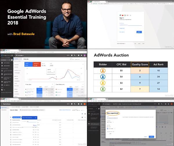 Google AdWords Essential Training 2018 center