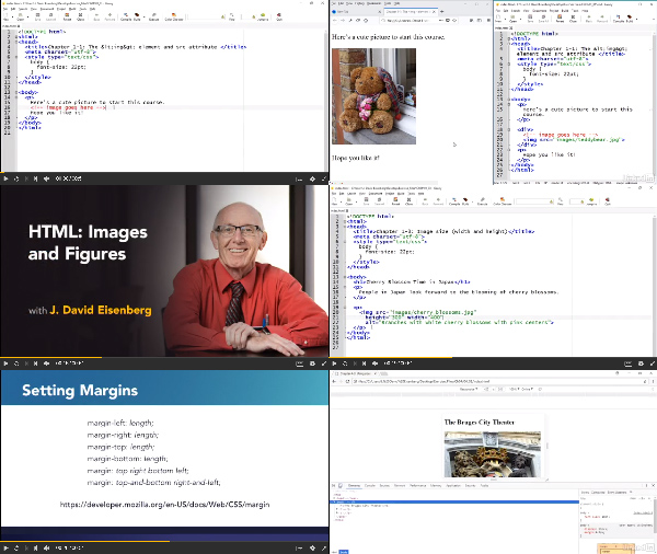 HTML: Images and Figures center