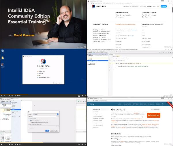 IntelliJ IDEA Community Edition Essential Training center