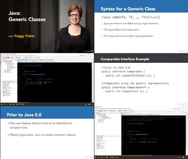 Java: Generic Classes center
